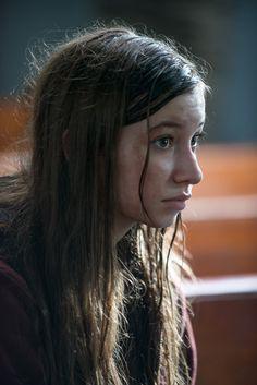Katelyn Nacon as Enid – The Walking Dead _ Season 6, Episode 9 – Photo Credit: Gene Page/AMC
