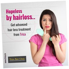 When it comes to hair, hair fall is the greatest worry women have. Trica Clinic offers effective hair loss treatments with most advanced technologies. Visit : http://www.trica.in/