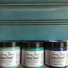 ✨Custom Creations 1 part Provence, 1 part Florence, 1 part Napoleonic Blue #diy #customcolor #anniesloan #chalkpaint #morethanpaint #provence #florence #stockist #napoleonicblue #decor #furniture #letscreate #paintpassionnj #redbank #nj #newjersey #monmouthcounty