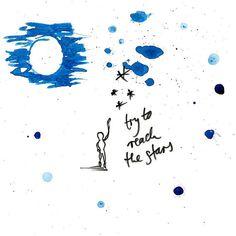 Artprint try to reach the stars