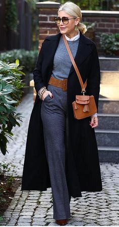 60 Fashion, Fall Fashion Outfits, Cute Fashion, Winter Fashion, Classy Winter Outfits, Casual Fall Outfits, Classic Outfits, Bcbg, Iranian Women Fashion