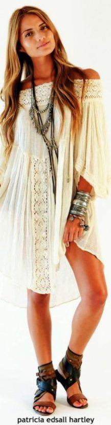 Stylish bohemian boho chic outfits style ideas 36