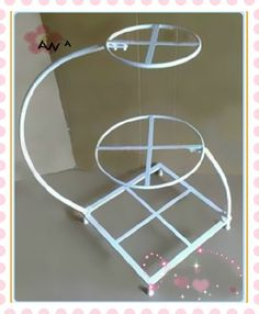 3 Tiered Square Cake Stands | All the products of our factory can be customized in order to meet ...