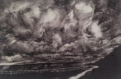One of five prints for her final Exam. Truro College, Sky Landscape, Printmaking, Clouds, Fine Art, Artist, Prints, Painting, Inspiration