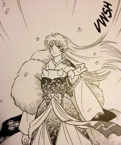 Sesshoumaru.... Love me!!! Not Kagura lol xD