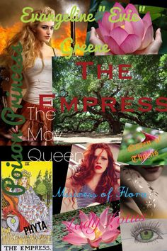 The Empress. Inspired by Poison Princess by Kresley Cole.