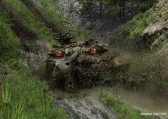 WALL-E: Big Brother. T-90S Main Battle Tank