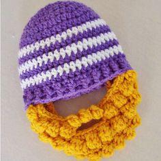 A la venta Del Bebé beanie Barba con amarillo barba sombrero Hecho A Mano del ganchillo del bebé niños pequeños y barba tapas sombrero del invierno del bebé 0-3 M 6-12 M(China (Mainland))