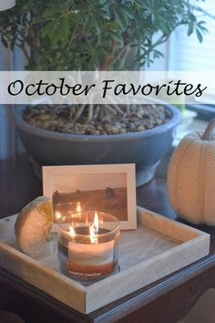 October Favorites | November Plans: Faves include Lush products, a sparkling beverage and a pregnancy subscription box!