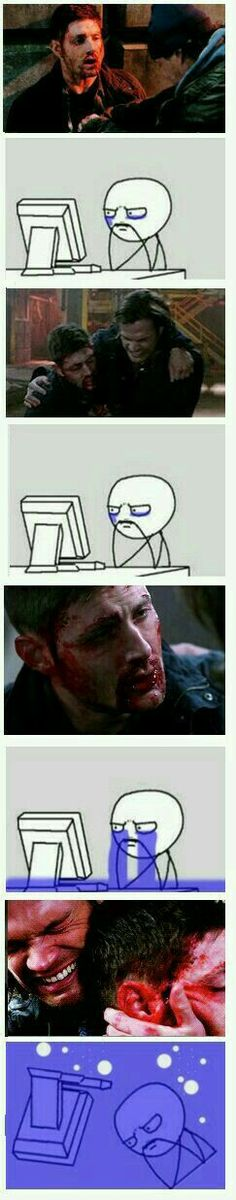 I hate this part of the show. Makes me wanna cry.  #Supernatural