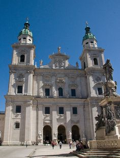 Salzburg Cathedral - Salzburg, Austria  http://www.travelandtransitions.com/austria-travel/