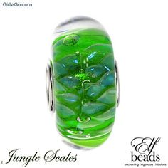 Elfbeads Jungle Scales G160319 from the Shades of Love collection at GirleGo
