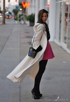 Long White Coat