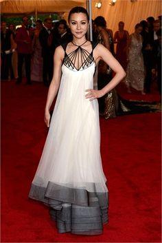 China Chow at the Met Gala
