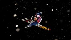 Emily Cook of the United States practices ahead of the Freestyle Skiing Ladies' Aerials Finals on day seven of the Sochi 2014 Winter Olympics at Rosa Khutor Extreme Park on Feb. 14, 2014 in Sochi, Russia. (Cameron Spencer/Getty Images)