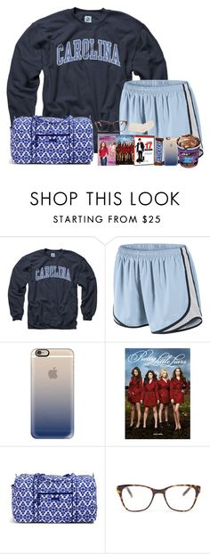 """""""sleepover with my sisters!!"""" by madiweeksss ❤ liked on Polyvore featuring NIKE, Casetify, Vera Bradley, Prism, Hue and polysorority"""