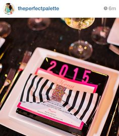 kate spade inspired new years party