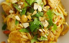 Asian: Light Thai Peanut Butter Chicken