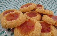 Hot pepper jelly cookies. Holy moly awesomeness. My version had jalepeno jam, which is what I grew this season. They were the bomb.