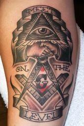 I will have this tat! Freemason Tattoo, Masonic Tattoos, Biker Tattoos, Arrow Tattoos, Tatoos, Future Tattoos, Tattoos For Guys, Masonic Symbols, Freemasonry