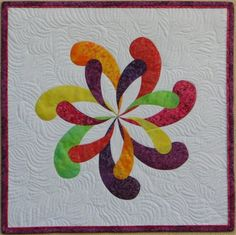 Obsession Wallhanging Quilt Art by Sampaguita Quilts shop on etsy