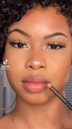 Makeup For Black Skin, Black Girl Makeup, Girls Makeup, Cute Makeup Looks, Makeup Eye Looks, Eye Makeup, Makeup Inspo, Makeup Tips, Beauty Makeup