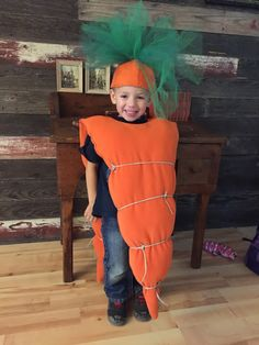 My Life : Fall Festival.......Carrot costume