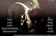 hermione and draco fan art--- Yes. True. The Truth.
