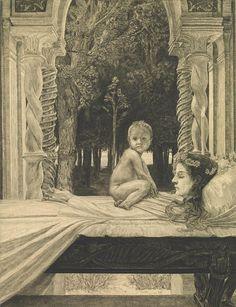 Max Klinger, Die tote Mutter