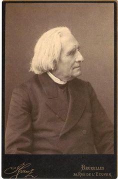 Franz, Ritter von Liszt (1811-1886), photograph (1882), by Julian Ganz (1844-1892).