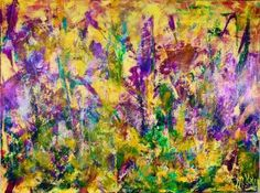 "Saatchi Art Artist Nestor Toro; Painting, ""Purple Haze (Lust)"" #art"