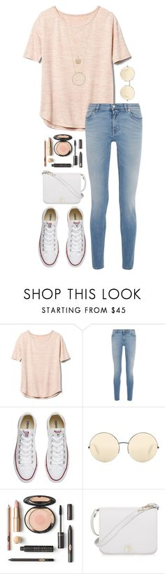 """12.02.17"" by aure-white ❤ liked on Polyvore featuring Gap, Givenchy, Converse, Victoria Beckham, Furla and Kate Spade"