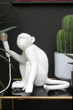 Sitting Monkey Table Lamp   View All   Lighting