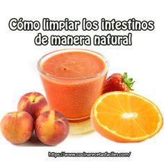 Cómo limpiar los intestinos de manera natural