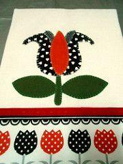 Pano de prato tulipa (AGULHA, LINHA E AMOR) Tags: de pano prato