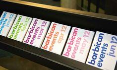 Barbican Visual Identity