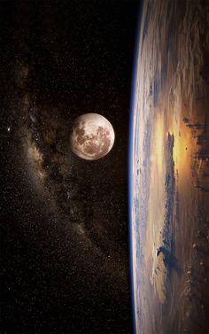 Full Moon by Gabor Jonas