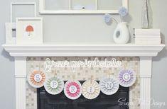 Spring printable Banner {free download} - I Heart Nap Time   I Heart Nap Time - How to Crafts, Tutorials, DIY, Homemaker