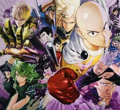 This HD wallpaper is about Anime, One-Punch Man, Atomic Samurai (One-Punch Man), Bang (One-Punch Man), Original wallpaper dimensions is file size is Saitama, Gorillaz, Manga One Punch Man, Opm Manga, Tatsumaki Manga, Tatsumaki One Punch Man, Metal Bat, Susanoo, Man Wallpaper