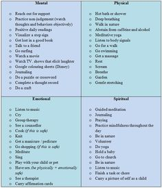 coping skills list - Google Search