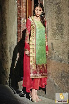 Get a beauteous attractive red green silk embroidery salwar kameez with low rate online discount deal. It is prettified with multi threaded patch on dress. #salwarkameez, #cottonsalwarkameez, #casualsalwarlameez, #printedsalwarkameez, #indiansalwarkameez,   #churidarsalwarkameez, #discountoffer, #pavitraafashion, #utsavfashion, #embroiderysalwarsuit, #chiffonsalwarsuit, #georgettesalwarsuit http://www.pavitraa.in/store/casual-dress/ callus:+91-7698234040
