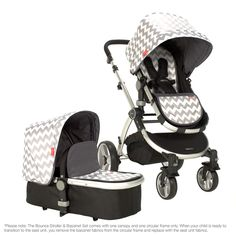 Redsbaby Bounce Stroller & Bassinet Set