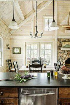 white wash knotty pine walls dark rough hewn hardwood on home office paint colors 2021 id=81823