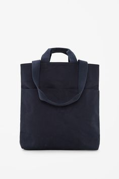Cotton twill tote bag