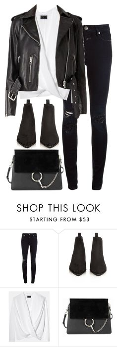 """""""Untitled #2951"""" by elenaday ❤ liked on Polyvore featuring Closed, Acne Studios and Chloé"""