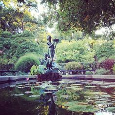 Central Park - Conservatory Garden in New York, NY