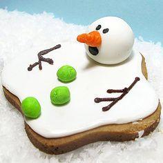 koekjes gesmolten sneeuwpop