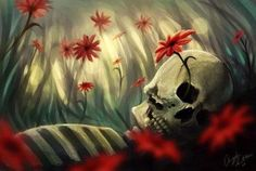sleep with the flowers