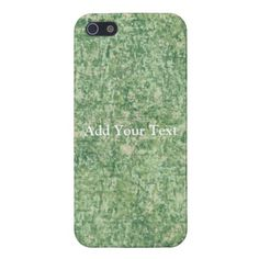 Greens Texture iPhone 5 Case