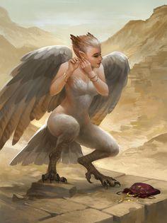 Vain Harpy 2 by sandara